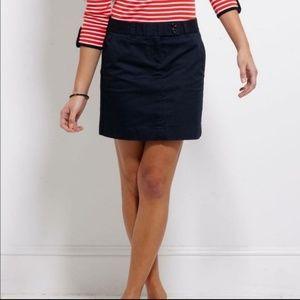 Vineyard Vines Dayboat Skirt Navy Sz8